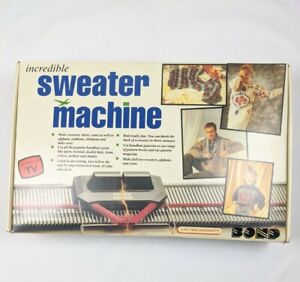 Bond Incredible Sweater Machine Vintage Never Used MISSING MANUAL BOOKLET