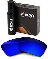 Polarized IKON Replacement Lenses For Dragon The Jam Sunglasses Deep Blue Mirror