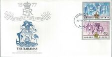 Bahamas - The Queen'S Silver Jubilee Combo Fdc - Cacheted - Nice!
