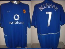 Manchester United David Beckham Jersey Camicia Adulto XXL CALCIO FOOTBALL NIKE UTD