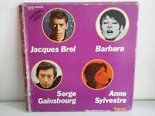 Coffret GAINSBOURG / BREL / BARBARA / ANNE SYLVESTRE 6995159
