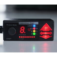 Rare Color Led Valentine One Concealed Display! Multi-Color Radar bands