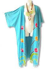 CD321 Floral Plus Size Cardigan Duster Kimono Maxi Cover up - 2X, 3X, 4X & 5X