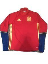 Spain Soccer Jersey Sweat Adidas Medium Red/ Blue