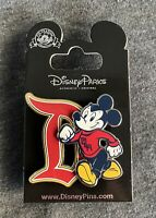 Disneyland Resort Mickey Mouse Collegiate Sweater Pin - Brand New!
