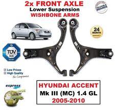 2 X Vorderachse L. + R. Untere Querlenker für Hyundai Accent Mk III 1.4 Gl