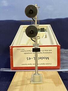 Custom Signals - O Scale Model SL-45 Interlocking Signal