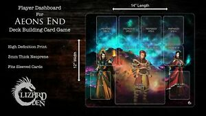 Custom Made Player Mat for Aeon's End Board Game
