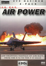Top Gun Air Power Footage of Aircraft from the B-52s to the F-15 Eagle 4 DVD Set