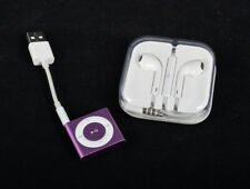 Apple iPod Shuffle 4th Generation Pink 2 GB plus Apple Earphones Bundle (unused)