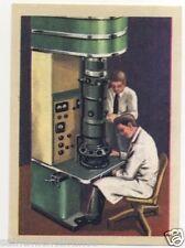 IMAGE CARD MICROSCOPE ELECTRONIQUE ELECTRICITE AGRANDISSEMENT SCOPE CHROMO