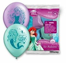 "12"" Disney Ariel Little Mermaid Birthday Latex Helium Balloons Party Qualatex"
