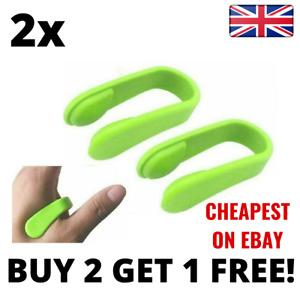 2 Pcs Aculief Migraine Relief Palm Pressure Clip Hand Massager Tension UK
