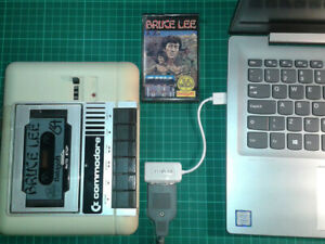 Commodore 1530USB Datasette To PC Adapter C2N Tape Recorder Tapuino C64 VIC20