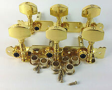 Classical Guitar Golden Tuning Pegs Machine Heads tuner for classical guitar