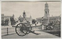 South Africa postcard - Monuments in Town Gardens & Post Office, Durban (A34)