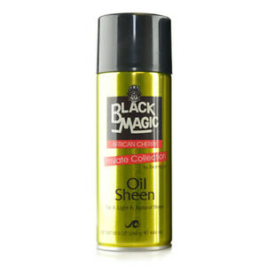 Black Magic Oil Sheen African Cherry Pure Protein Net Weight 10.5 Ounce