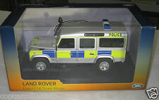 Universal Hobbies 1/18 UK Police Land Rover Defender 110 Battenberg Livery