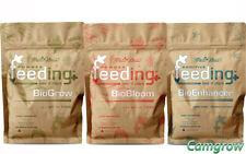 Green House Powder Feeding  BioGrow, BioBloom & Enhancer Soluble Plant Nutrients