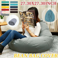 Large Beanbag Teen Bean Bag Chair Kids Seat Adult Childrens Chair Cover Colors