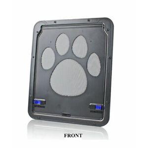 Pet Supplies Dog Paw Print Doors Anti-bite Medium  Large Dogs Screen Doors Cats