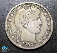 1909 P Barber Half Dollar  --  MAKE US AN OFFER!  #B3978