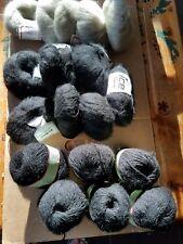100/% Acrylic  BLACK Yarn #44335