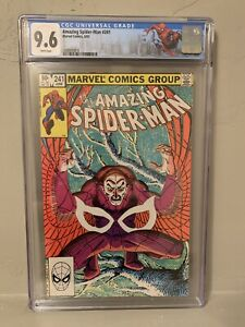 Marvel The Amazing Spider-Man #241 CGC 9.6 NM+ Origin Vulture NY City Label