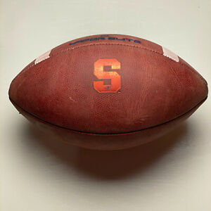 2019 Syracuse Orange Game Issued Nike Vapor Elite NCAA Football - University ACC