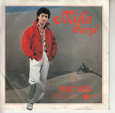 45TRS VINYL 7''/ SWISS SP MIKE CARYL / PARIS - DAKAR / MOTO