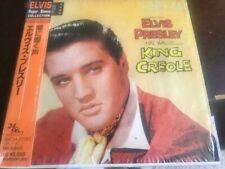 "Elvis Presley ""King Creole"" JAPAN MINI-LP cd OBI NEAR MINT BVCM-37187"