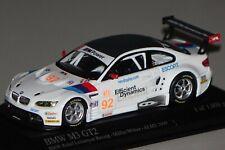 BMW M3 GT2(E92) AMS 2009 #92 1:43  Minichamps 400092992 neu & OVP