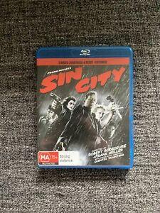 Sin City (2005, Dir. Frank Miller, Robert Rodriguez) Blu-ray — Two Disc Set