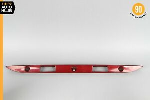 96-02 Mercedes W210 E430 E320 E55 AMG Trunk Lid Tailgate Hatch Handle Red OEM