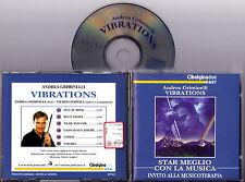 ANDREA GRIMINELLI Flauto - Vibrations Star Meglio con la Musica 1998 CD RARITA'