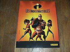 Super ! Lot Disney pixar LES INDESTRUCTIBLES ; Album + 200 autocollants panini