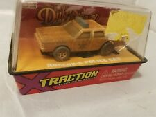 "AUTO WORLD X-TRACTION DUKES OF HAZZARD ""DIRTY"" ROSCOE' POLICE CAR SLOT CAR-NIB"