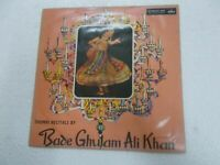 "BADE GHULAM ALI KHAN THUMRI RECITALS 1967 RARE 10"" LP RECORD BOLLYWOOD INDIA VG+"