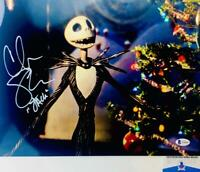 Chris Sarandon signed Jack Skellington 11X14 photo BAS COA WAO4904