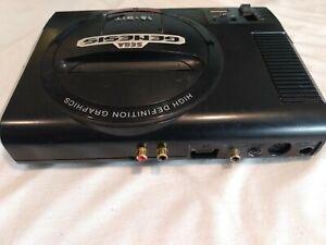 Sega Genesis Model 1 w S Video LED Modded w Power Supply