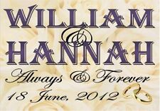 Wedding Decorative Plaques & Signs