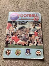 1982 Panini Football Album Complete