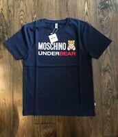Moschino Underbear Logo Black T-Shirt EU Medium (DUSTBAG INCLUDED)