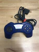 EA Sports Controller Gamepad For Sony PlayStation For PlayStation 1 PS1 Blue 9E