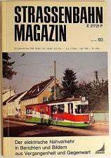 Tranvía Revista Folleto 60 Mai 1986, S.81-160 De Franckhche Editorial Acción