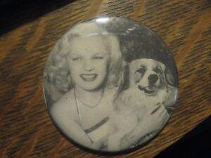 June Haver Movie Star 1948 Friskies Dog Food Advertisement Lipstick Mirror $20