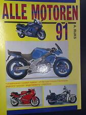 Alle Motoren 1991 door A. Rijks