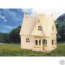 """puzzle en 3D """"maison avec porche"""""""