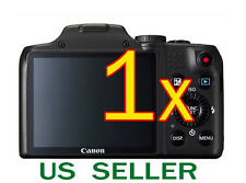 1x Canon PowerShot SX170 IS Clear LCD Screen Protector Guard Shield Film
