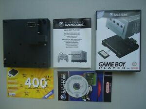 GAME BOY PLAYER advance PAL Nintendo Gamecube GBA CD notice